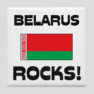 Belarus Rocks! Tile Coaster